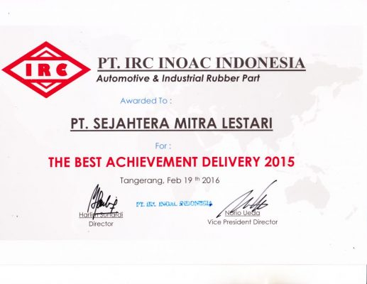 The Best Achievment Delivery 2015 - From IRC